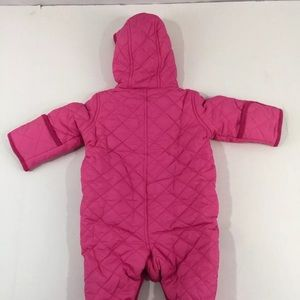 9cbbe557b Ralph Lauren Jackets & Coats - Ralph Lauren Hot Pink Baby Girl Snowsuit 6  Months